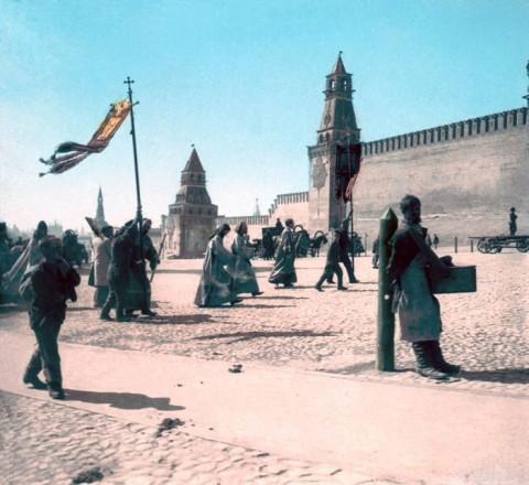 Россия 1896 года: фотографии в цвете