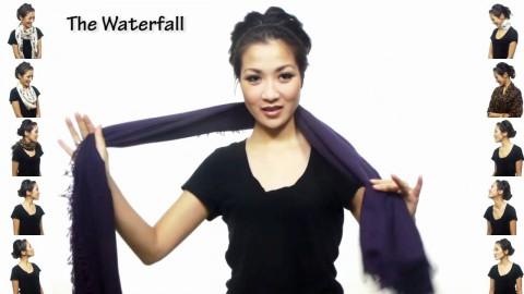 25 оригинальных способов завязывания шарфа! Добавь в закладки!
