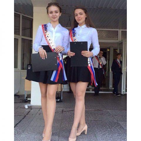 Выпускницы-2016: еще вчера эти красавицы были школьницами