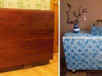 Советская мебель до и после переделки. Или что опытный дизайнер может сделать со старым сервантом