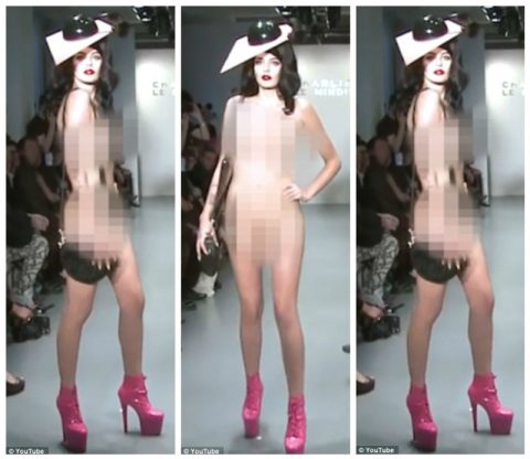 Мир высокой моды распрощался со всеми ограничениями — модели вышли на подиум голыми
