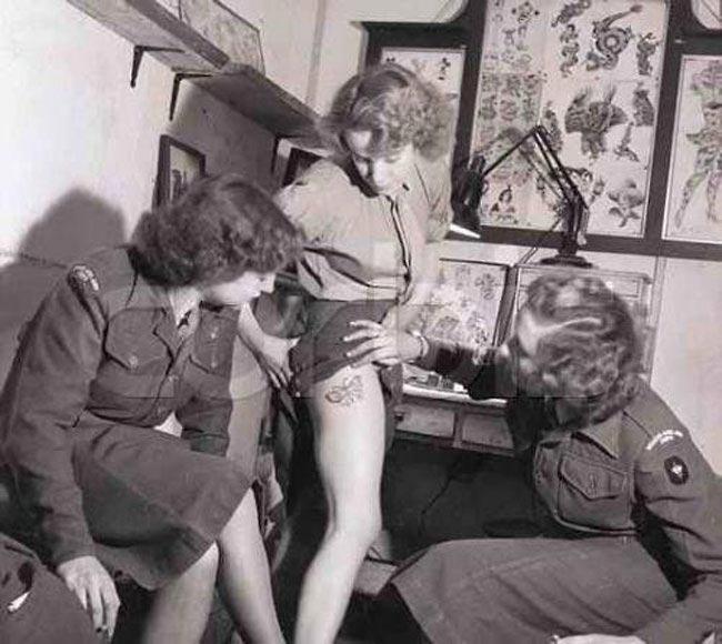 Порно фотографии о сексе в третьем рейхе