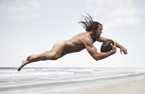 Как выглядят известные спортсмены без одежды