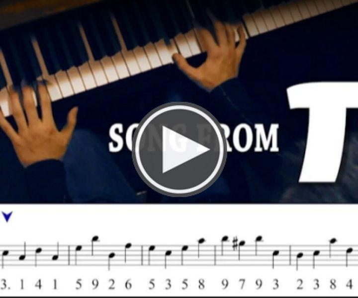 Как звучит число Пи, если сыграть его на пианино