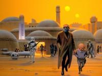 Иллюстрации, с которых начинались Звездные войны. Красота!