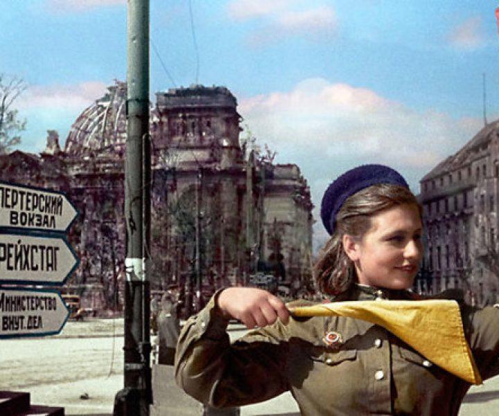 Знаменитые архивные снимки после колоризации – наша история в цвете. Часть 2.