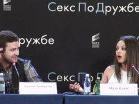 Мила Кунис шутит по-русски