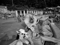 Сочинские пляжи 1988 года – архив бельгийского фотографа