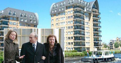 Дочь Путина продает роскошный пентхаус в Нидерландах за 3 млн евро. Вот как он выглядит внутри