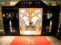 Как путешествуют люди с достатком – японский чудо-поезд