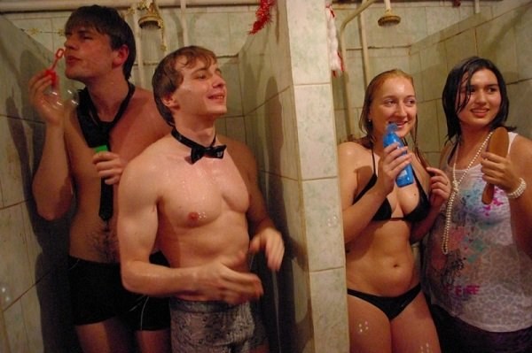 Реальний руский секс в общаге