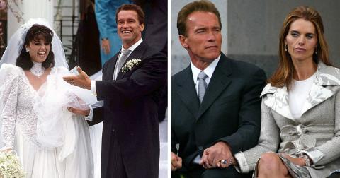 12 звездных пар в день свадьбы и развода