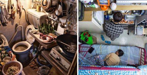 Квартиры-склепы: как выживают рядовые жители Гонконга