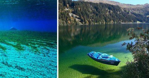 Это самое чистое озеро на планете, но даже не мечтайте в нем искупаться!