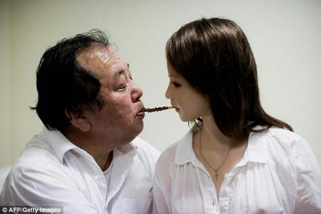 Японцы занимаются сексом с женой