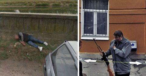Любопытные снимки Google Street из славянских стран – это надо видеть!