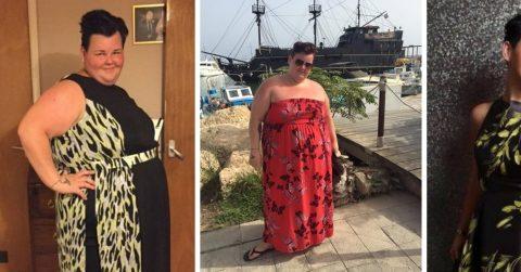 Из продавщицы-пышки в красавицу-модель: девушка сбросила 82 килограмма