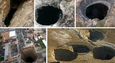 Земные дыры – почти настоящие врата ада  и они существуют на самом деле