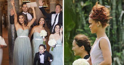 Звезды, которые согласились побыть подружками невесты у своих «незвездных» знакомых