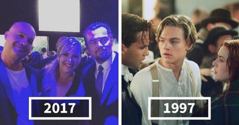 Любимые киногерои тогда и сейчас: почувствуйте себя старыми
