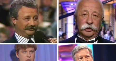 Как изменились отечественные телеведущие со времен своего первого эфира и до наших дней