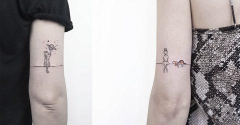 Сила в минимализме: 30 простых, но восхитительных татуировок
