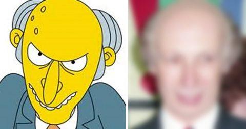 Живые «Симпсоны»: 16 людей, которые выглядят так же, как герои мультфильма