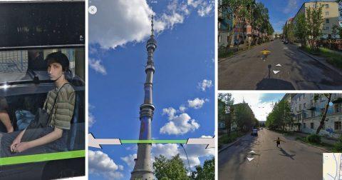 Google и Яндекс панорамы: самые неожиданные снимки