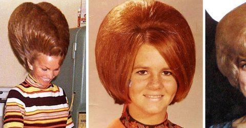 20 модных причесок из 60-х: сегодня мало кто на такое решится