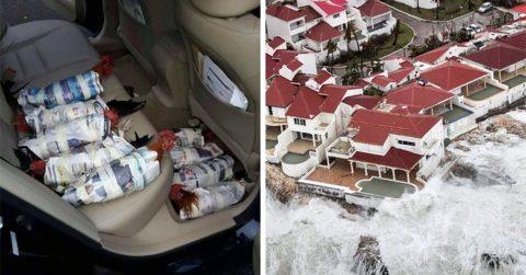 Ужасающие фотографии – свидетельства разрушительной мощи урагана Ирма