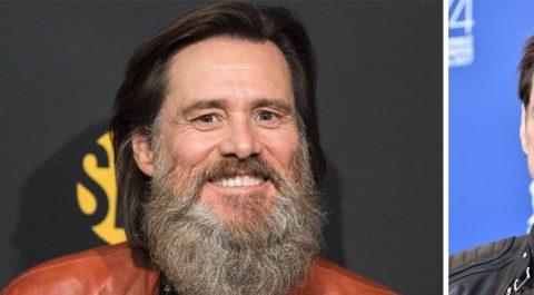 Джим Керри сменил имидж: актер сбрил свою знаменитую бороду