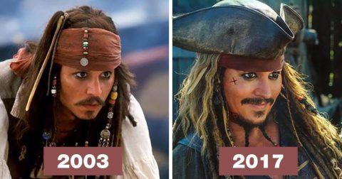 Герои «Пиратов Карибского моря» спустя 14 лет: сильно изменились?
