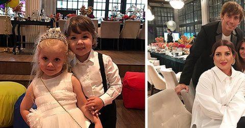 Алла Пугачева и Максим Галкин отпраздновали четырехлетие детей