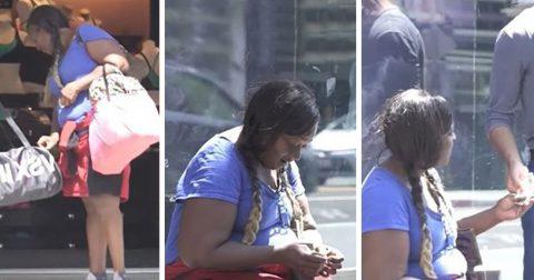На что бездомная потратила подаренные ей деньги? Авторы реалити-шоу не ожидали такого финала