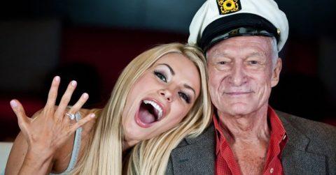 Никто и не подозревал, что оставил в наследство молодой жене умерший основатель империи Playboy