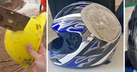 17 красочных и пугающих аргументов, почему всегда стоит надевать шлем