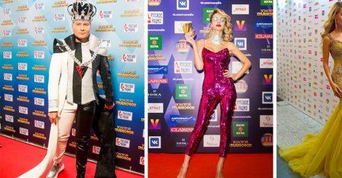 Самые абсурдные и вульгарные наряды звезд на премии «Золотой граммофон-2017»