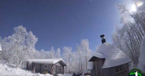 Метеор над Лапландией! Видеозаписи события над территориями трех северных стран