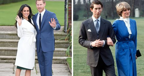 Во что одевались будущие принцессы в день своей помолвки