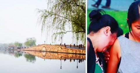 22 годя спустя брошенная китайской семьей девочка встретилась со своими родителями
