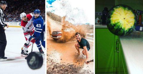 23 фотографии из серии «за миг до…»
