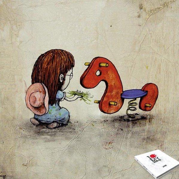 Современный художник пытается открыть глаза молодежи