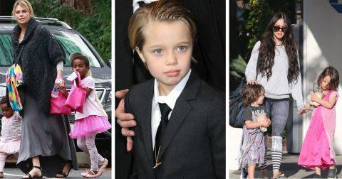 """Мальчик или девочка: дети знаменитостей, предпочитающие выглядеть """"по-другому"""""""