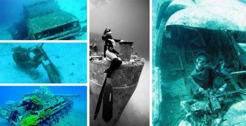 Погребенные в пучине: ужасная красота затонувшей техники