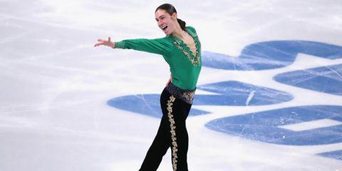Американский фигурист зажег весь зал, станцевав ирландский степ на льду