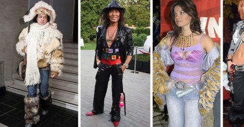 Ретроспектива нарядов отечественных знаменитостей, или что модного носили в 2000-ые?