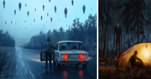 18 жутких картин, образы которых будут преследовать вас даже во сне