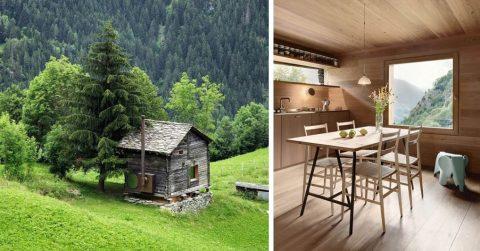 Дом мечты для интроверта: одинокая, ультрасовременная хижина среди Альп