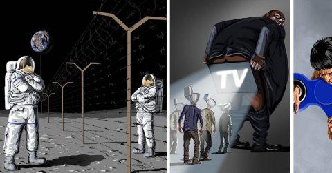 20 кричащих иллюстраций о злободневных бедах нашего мира