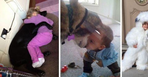 Если вы сомневаетесь, нужна ли вашему ребенку собака, просто посмотрите эти фотографии